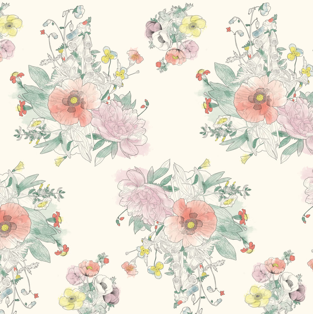 Muse & Marlowe flower pattern