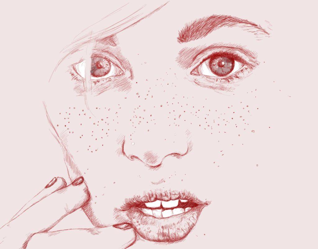 Close up - Woman portrait